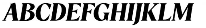 5th Avenue Italic Font UPPERCASE