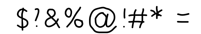 5yearsoldfont Font OTHER CHARS