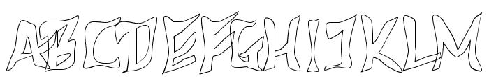 612KosheyLine-Bold Font UPPERCASE