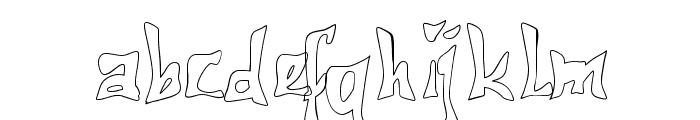 612KosheyLine-Bold Font LOWERCASE