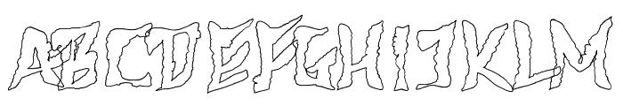 612KosheyLinePL-Bold Font UPPERCASE