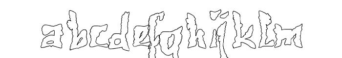 612KosheyLinePL-Bold Font LOWERCASE