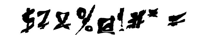 612KosheyPL-Bold Font OTHER CHARS