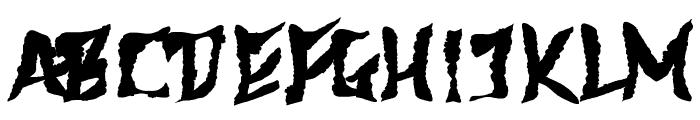 612KosheyPL-Bold Font UPPERCASE
