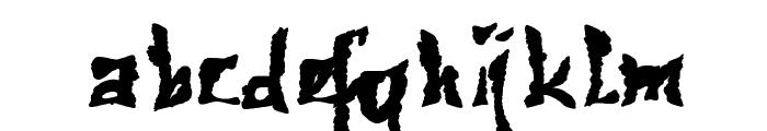 612KosheyPL-Bold Font LOWERCASE
