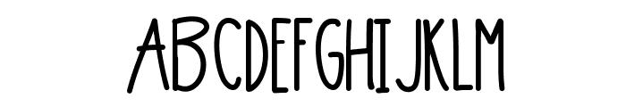 6PM Font UPPERCASE