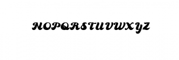 70s Font UPPERCASE