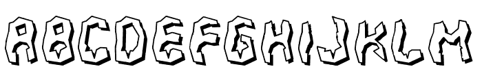 700 Fudge Font LOWERCASE