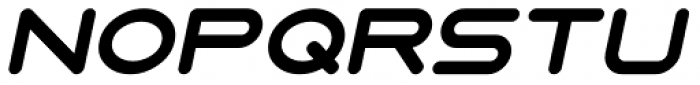 7 Days 2003 Fat Italic Font LOWERCASE