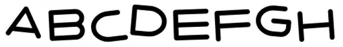 7 Days 2003 Tilted Font UPPERCASE