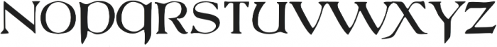 750 Latin Uncial otf (400) Font UPPERCASE