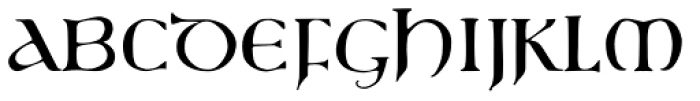 750 Latin Uncial Normal Font UPPERCASE