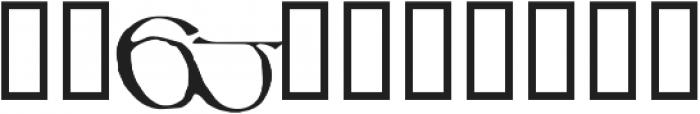799 Insular Titl otf (400) Font OTHER CHARS