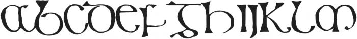 799 Insular Titl otf (400) Font UPPERCASE