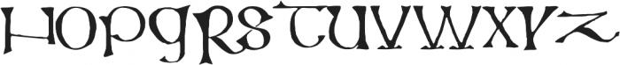 799 Insular Titl otf (400) Font LOWERCASE