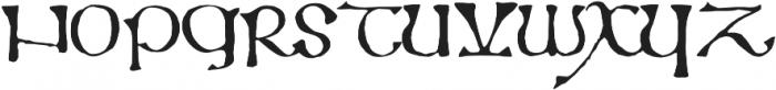 799 Insular otf (400) Font UPPERCASE