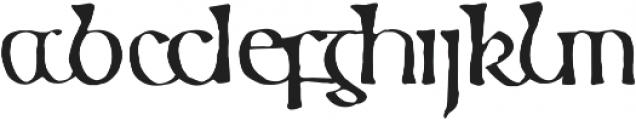 799 Insular otf (400) Font LOWERCASE
