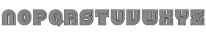 79 retro Font UPPERCASE