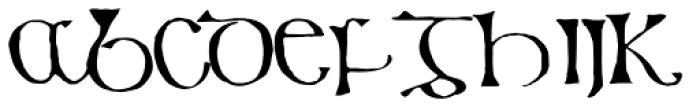 799 Insular Title Font LOWERCASE