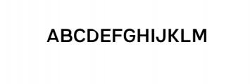 7NeutralGrotesk-Regular.ttf Font UPPERCASE