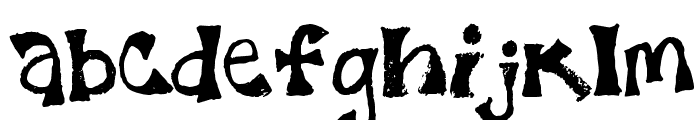 7th FadFace Font LOWERCASE