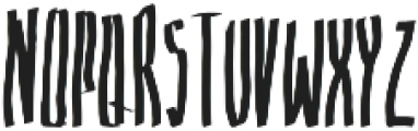 8 otf (400) Font LOWERCASE