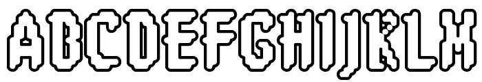 8-bit Limit RO [BRK] Font UPPERCASE