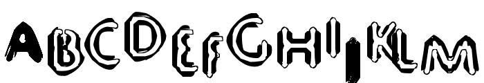 80 Decibels Font LOWERCASE