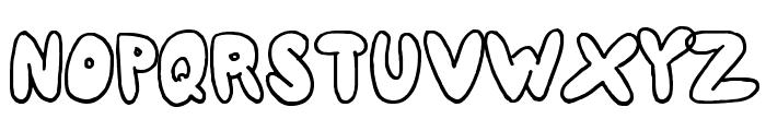 80er Teenie Demo Font UPPERCASE