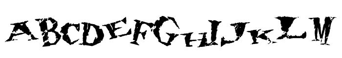 80's hero Font UPPERCASE