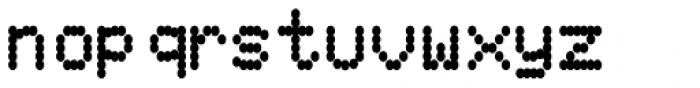 80s PXL Bold Font LOWERCASE