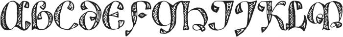 825 Lettrines Karolus otf (400) Font UPPERCASE