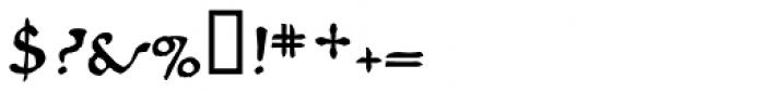 825 Karolus Normal Font OTHER CHARS