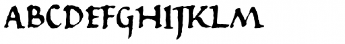 825 Karolus Normal Font UPPERCASE