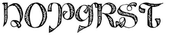 825 Lettrines Karolus Font UPPERCASE