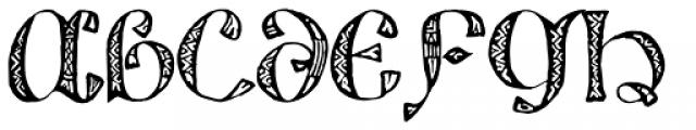 825 Lettrines Karolus Font LOWERCASE