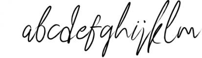83 script Font LOWERCASE