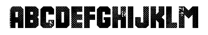 8th Cargo Font UPPERCASE