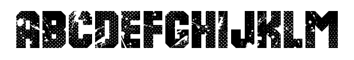 8th Cargo Font LOWERCASE