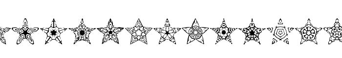 90 Stars BRK Font UPPERCASE