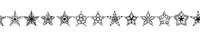 90 Stars BRK Font LOWERCASE