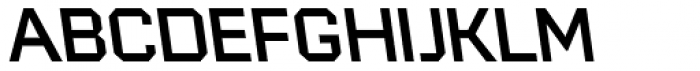 946 Latin Regular 3 L Font UPPERCASE