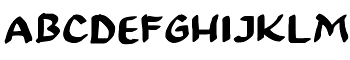 99 % OCCUPY Font UPPERCASE