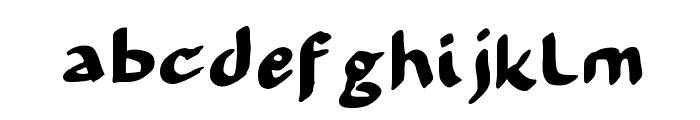 99 % OCCUPY Font LOWERCASE