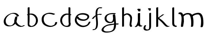 99%HandWritting Font LOWERCASE