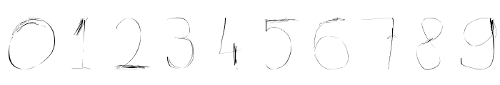 99%LineScratch Font OTHER CHARS