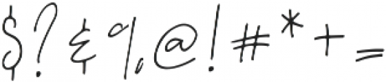 A Bientot Regular ttf (400) Font OTHER CHARS