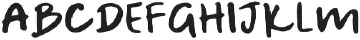 A Bientot Sans otf (400) Font LOWERCASE