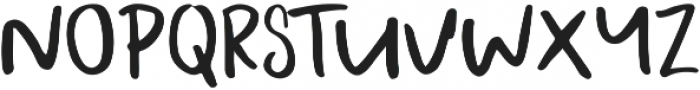 A Bientot Sans ttf (400) Font UPPERCASE