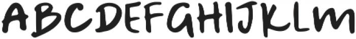 A Bientot Sans ttf (400) Font LOWERCASE